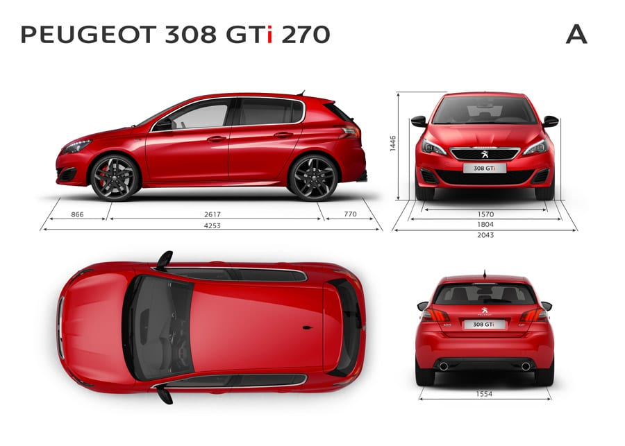 308 gti by peugeot sport la compacte sportive ultime. Black Bedroom Furniture Sets. Home Design Ideas