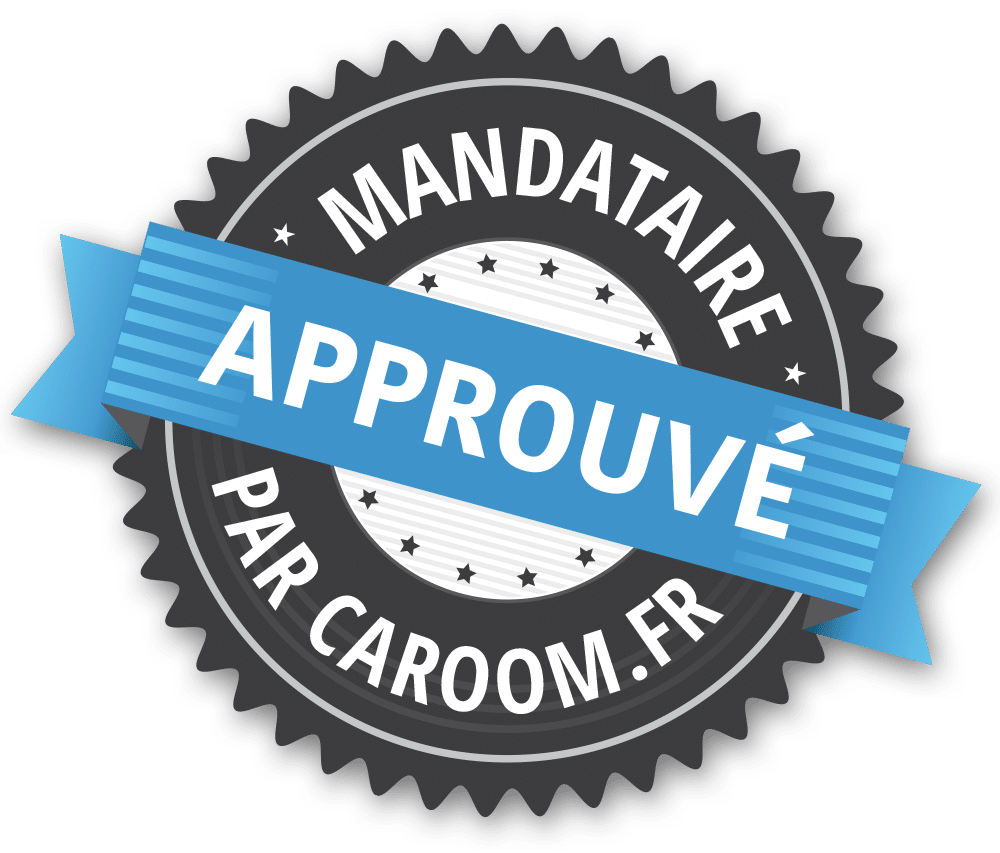 Ce mandataire est approuvé par Caroom.fr