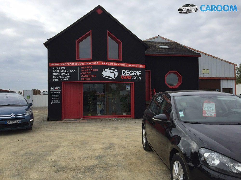 Les nouveaux bureaux de Degrifcars à Mordelle