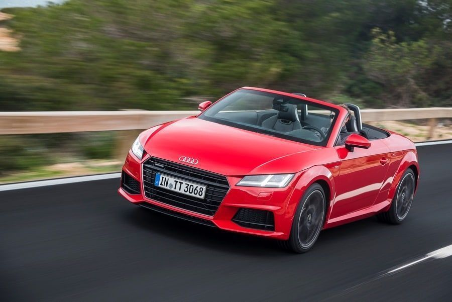 l audi tt roadster 2 0 tdi fait la belle. Black Bedroom Furniture Sets. Home Design Ideas