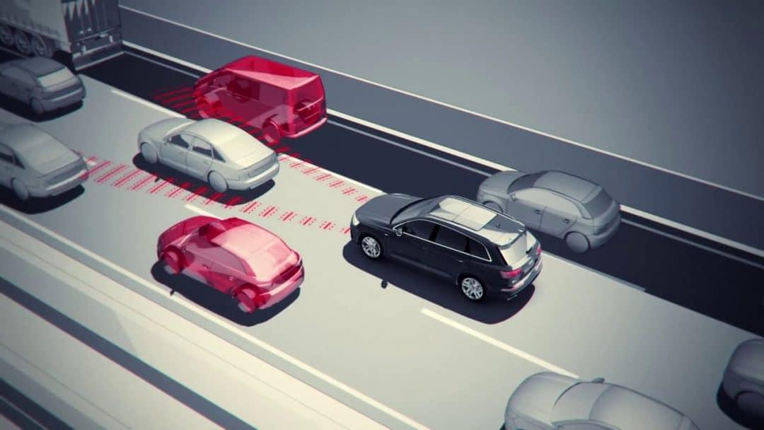Audi Trafic Jam Assist