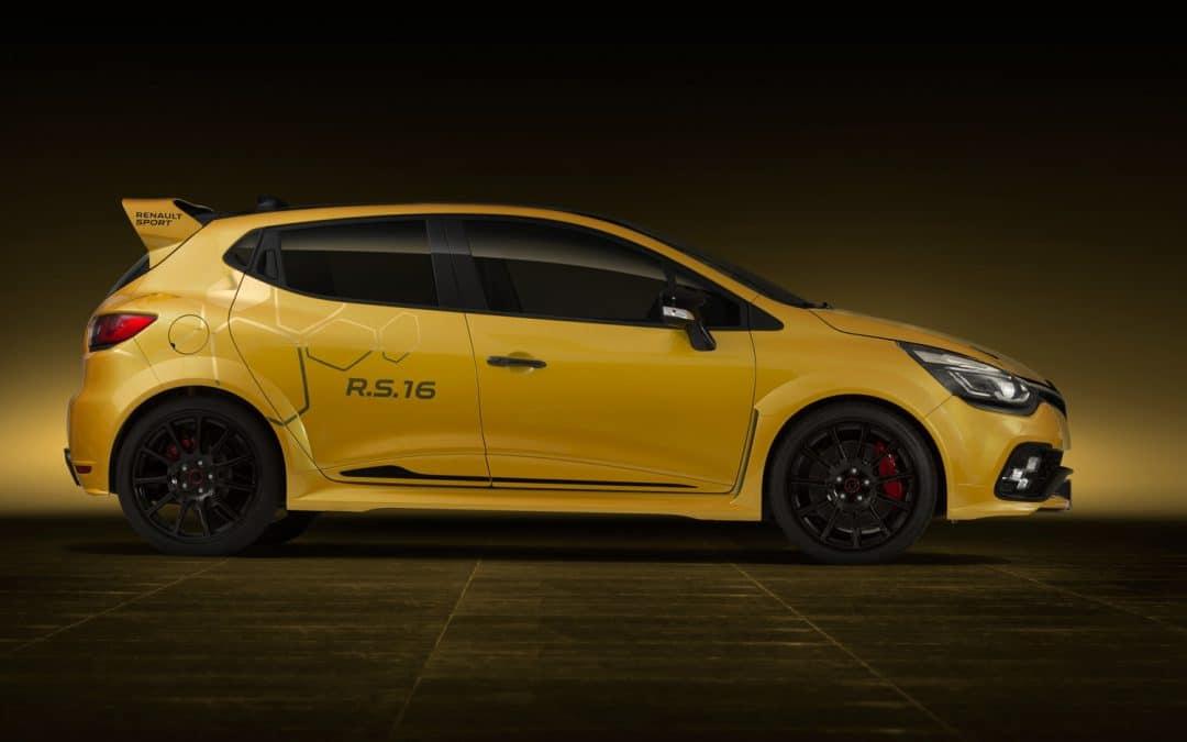 Renault Clio RS16 : un concept-car alléchant