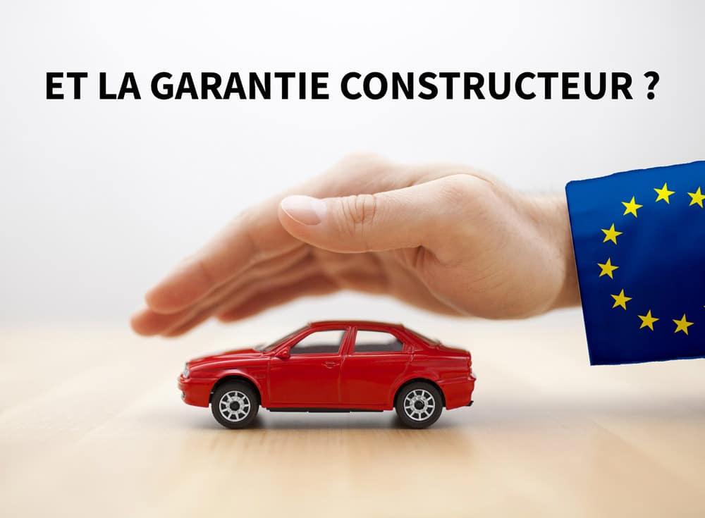 les voitures importées sont-elles garanties en france ?