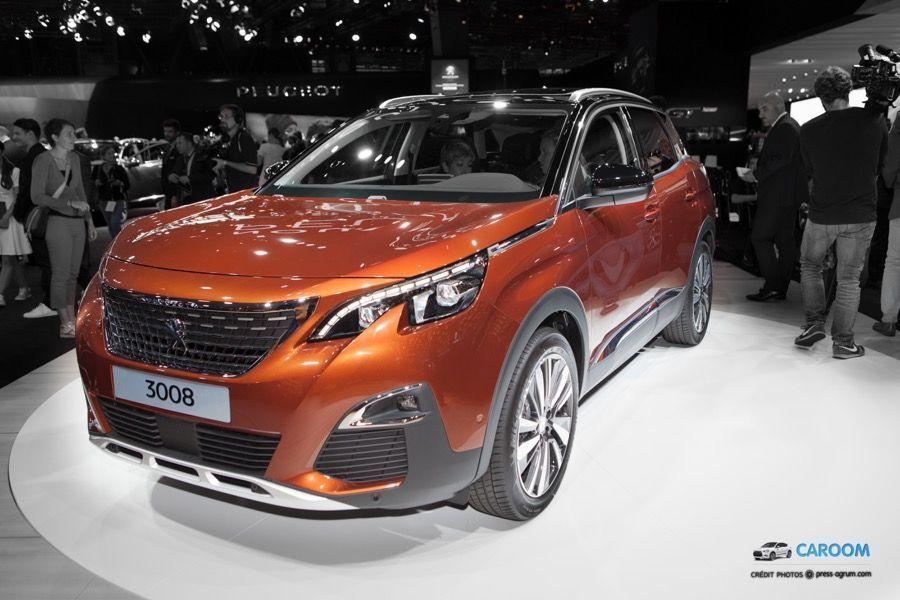 Peugeot 3008 et 3008 GT : Première apparition publique, toutes les photos à découvrir
