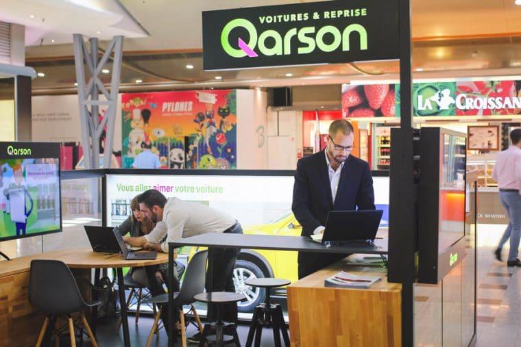 qarson ouvre une concession dans un centre commercial. Black Bedroom Furniture Sets. Home Design Ideas