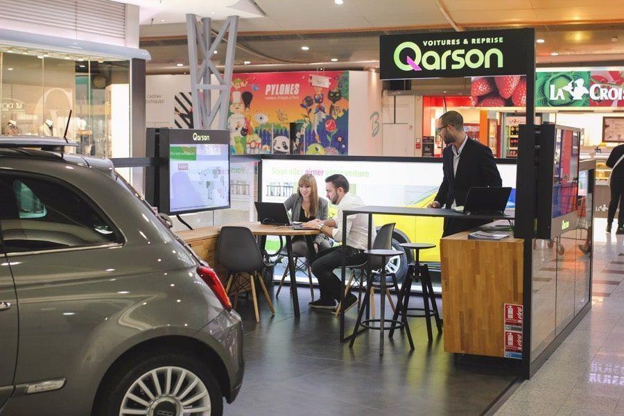qarson ouvre une concession dans un centre commercial toulousain. Black Bedroom Furniture Sets. Home Design Ideas