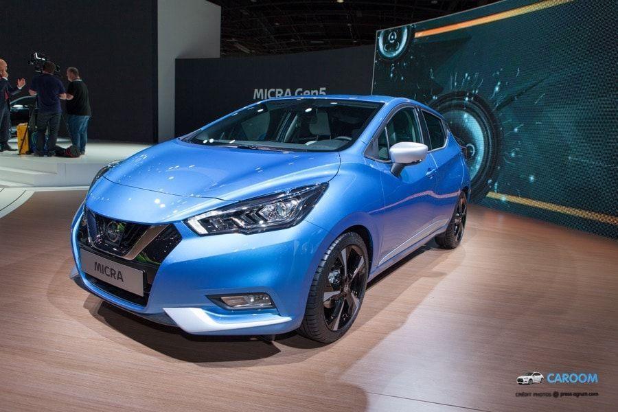 Nissan Micra 5 : nouveau design de la citadine