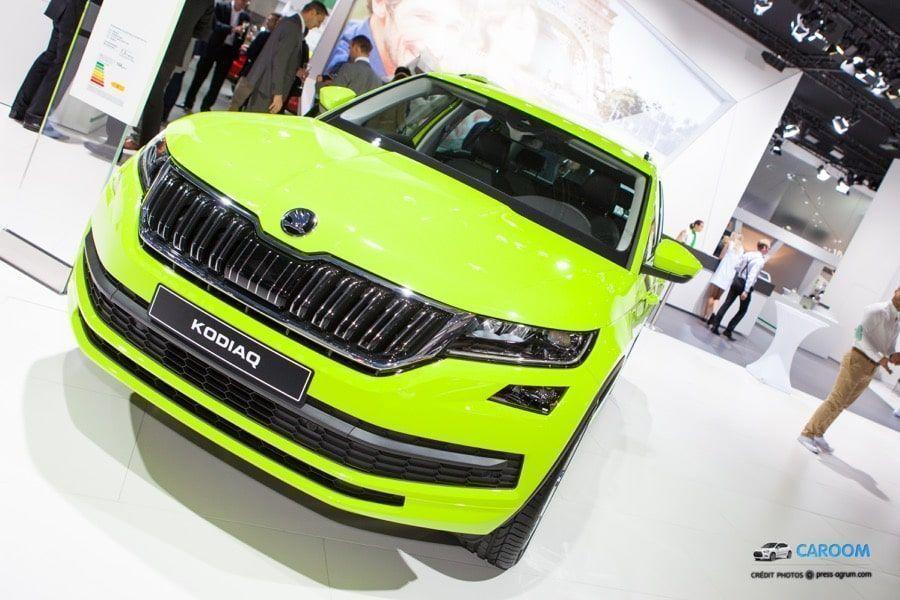 Kodiaq : nouveau grand SUV Skoda