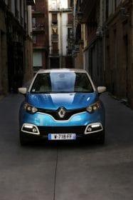 Face avant du Renault Captur