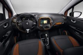 Console centrale Renault Captur
