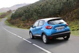 Renault Captur vue arrière