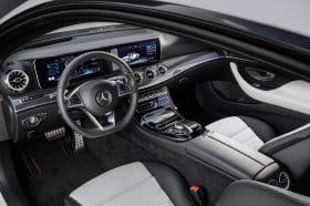 Nouvelle Mercedes Classe E Coupé Intérieur Widescreen