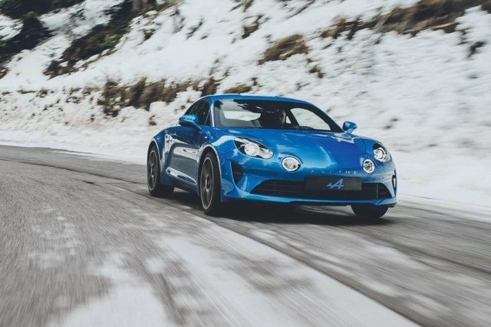 Alpine A110 2017 Salon de Genève