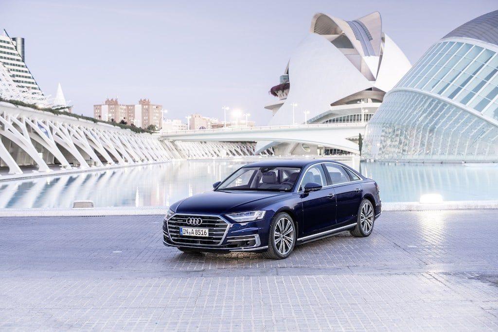 Nouvelle Audi A8 d5