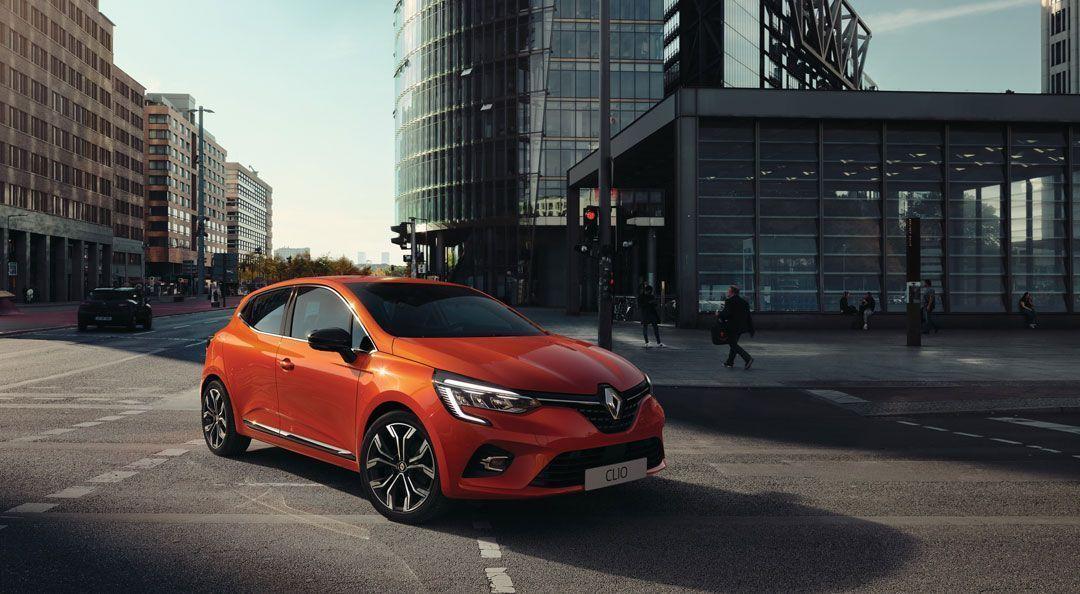 Nouvelle citadine Renault Clio 5
