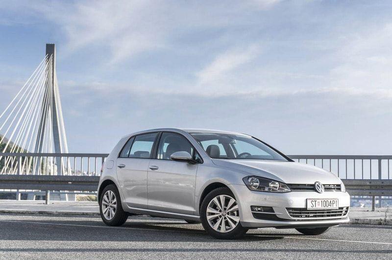 Une Volkswagen Golf d'occasion importée d'Allemagne