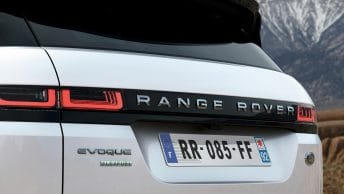 Range Rover Evoque Flexfuel