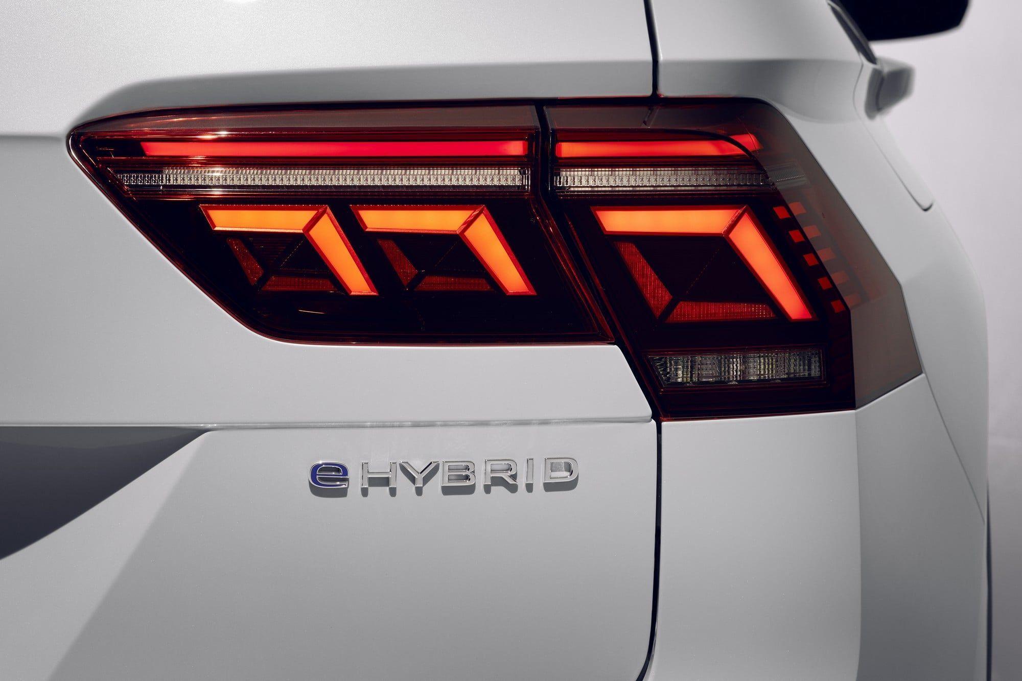 Volkswagen Tiguan restylé hybride rechargeable (2020)
