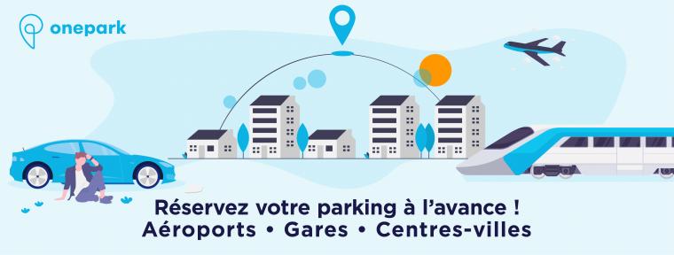 Onepark comparateur parking