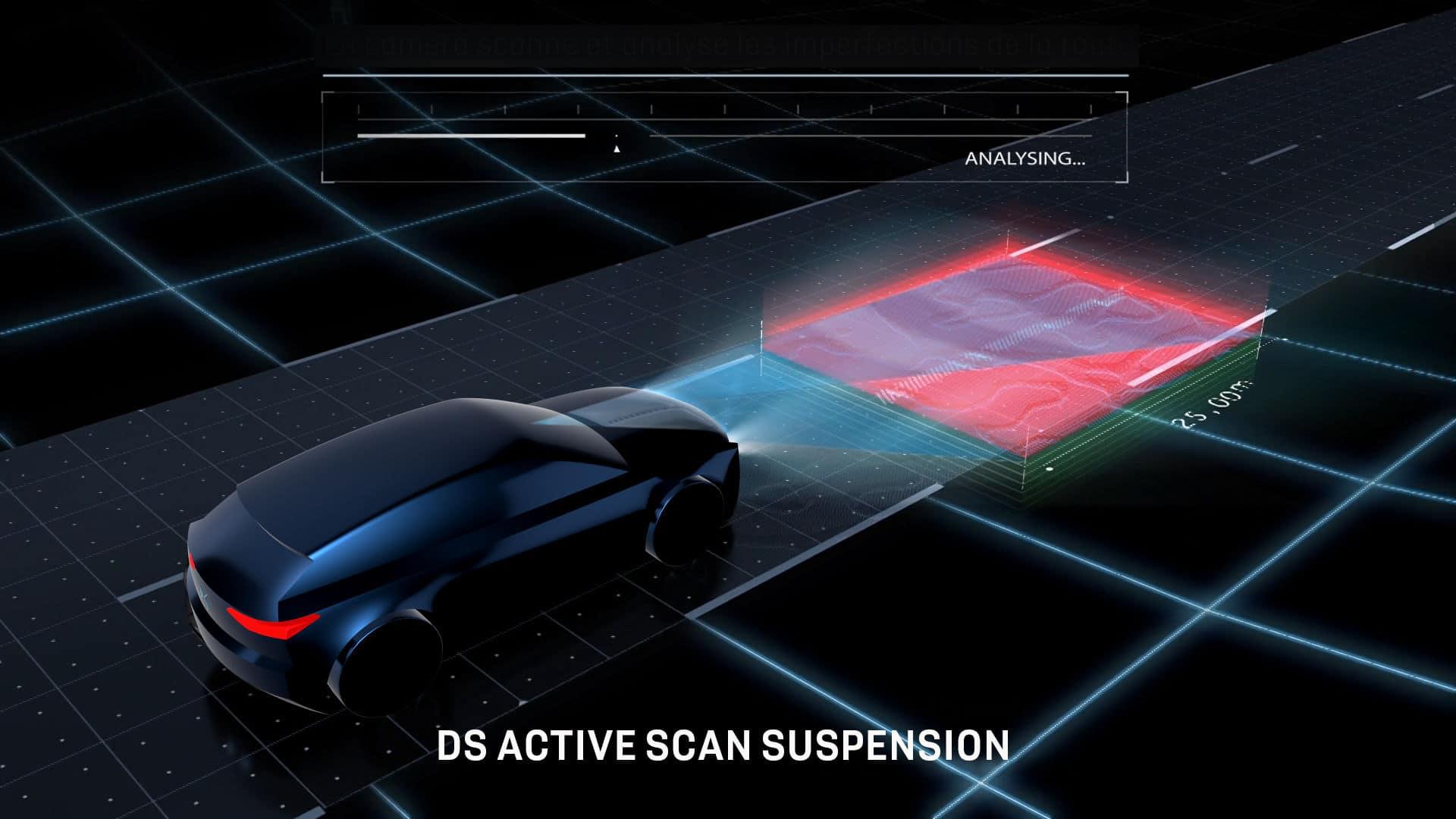 Amortissement piloté Active Scan DS 4 2021