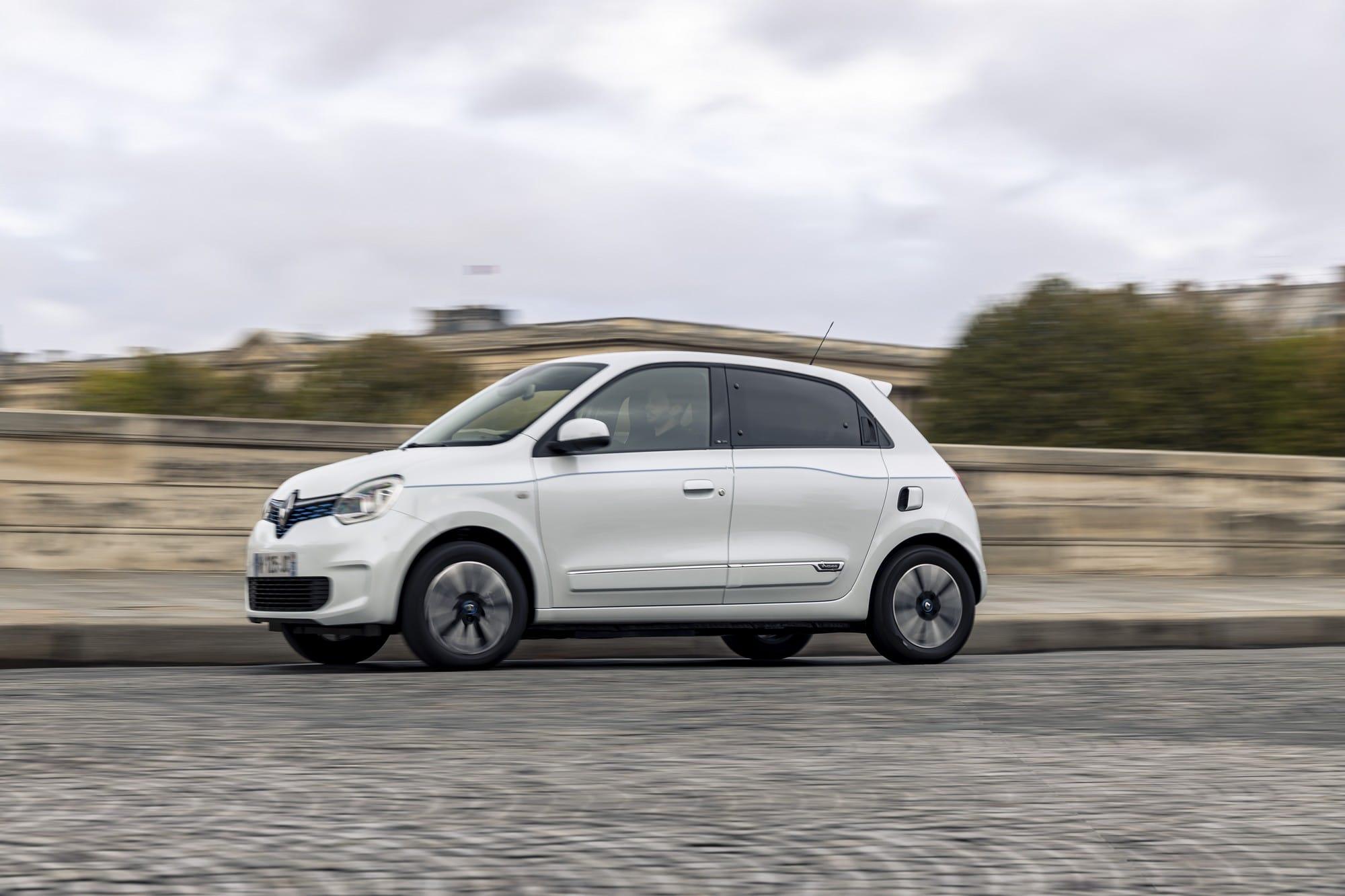 Renault Twingo électrique 2020 blanche