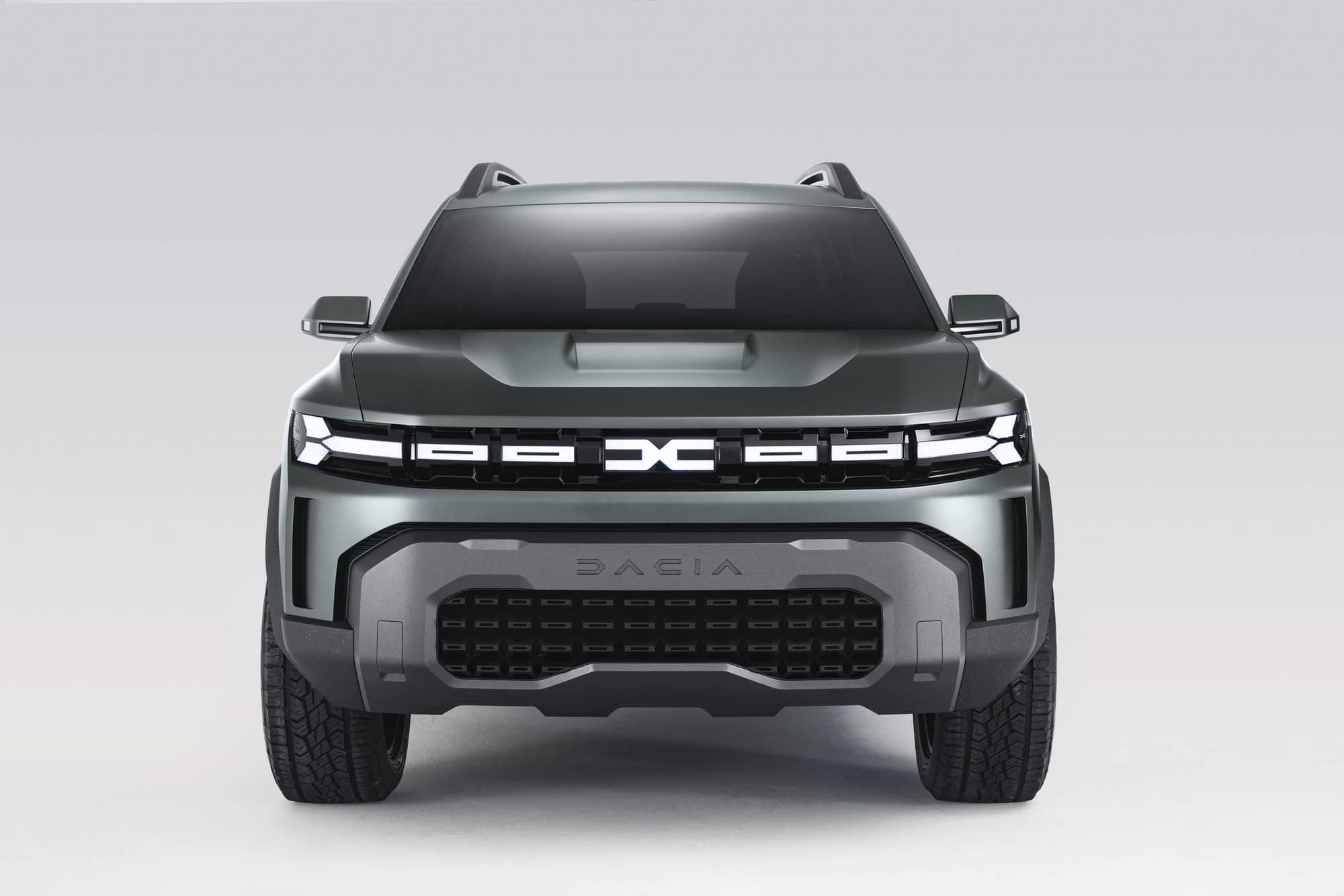 présentation Dacia Bigster