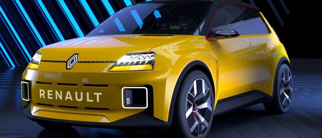 Renault 5 prototype showcar concept
