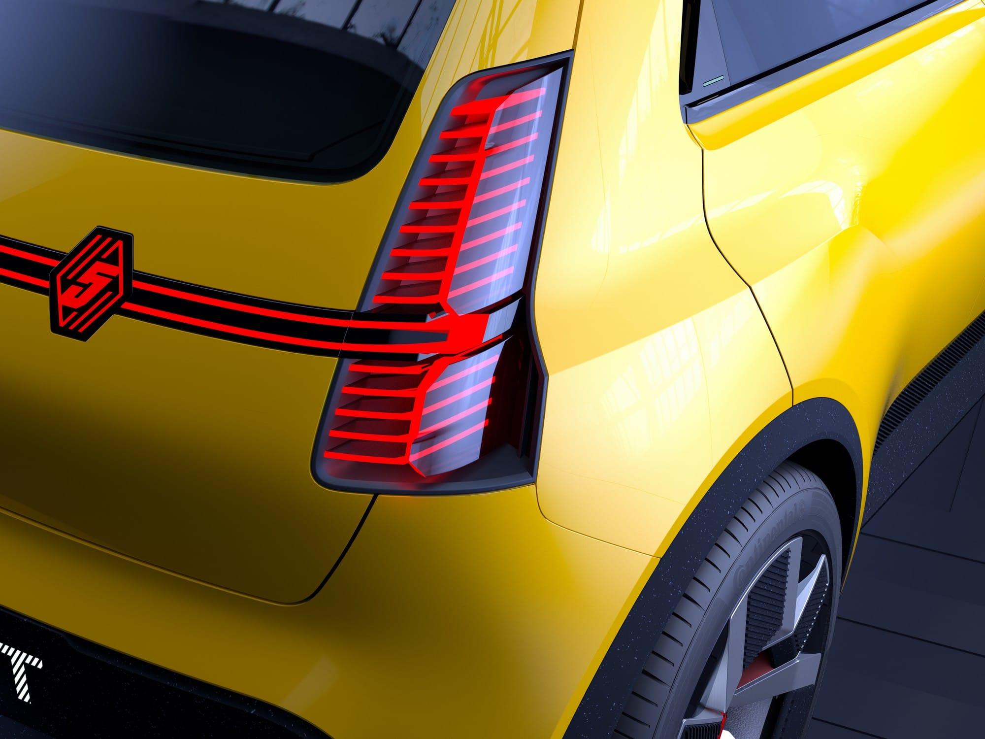 Renault 5 prototRenault 5 prototype showcar conceptype shwocar concept