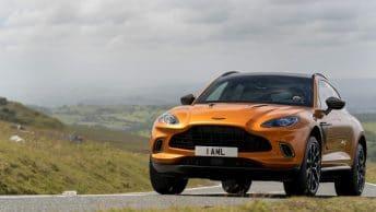 Aston martin DBX face avant