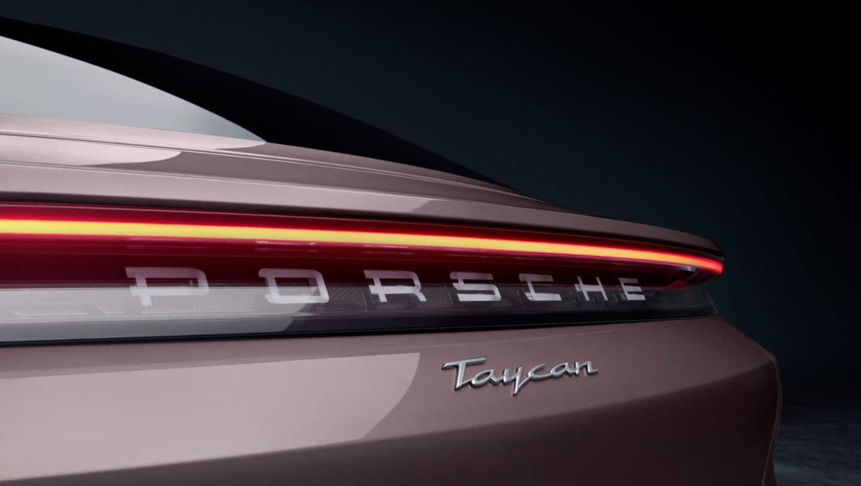 Porsche Taycan 2021 logo