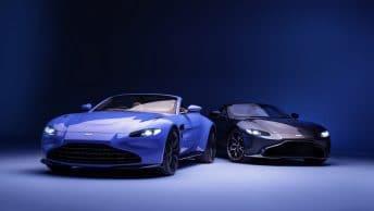 Nouvelle calandre Aston Martin Vantage 2021