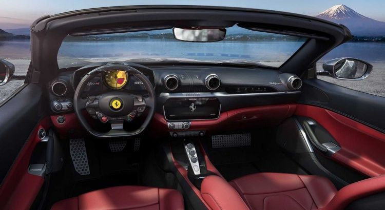 Ferrari Portofino M habitacle