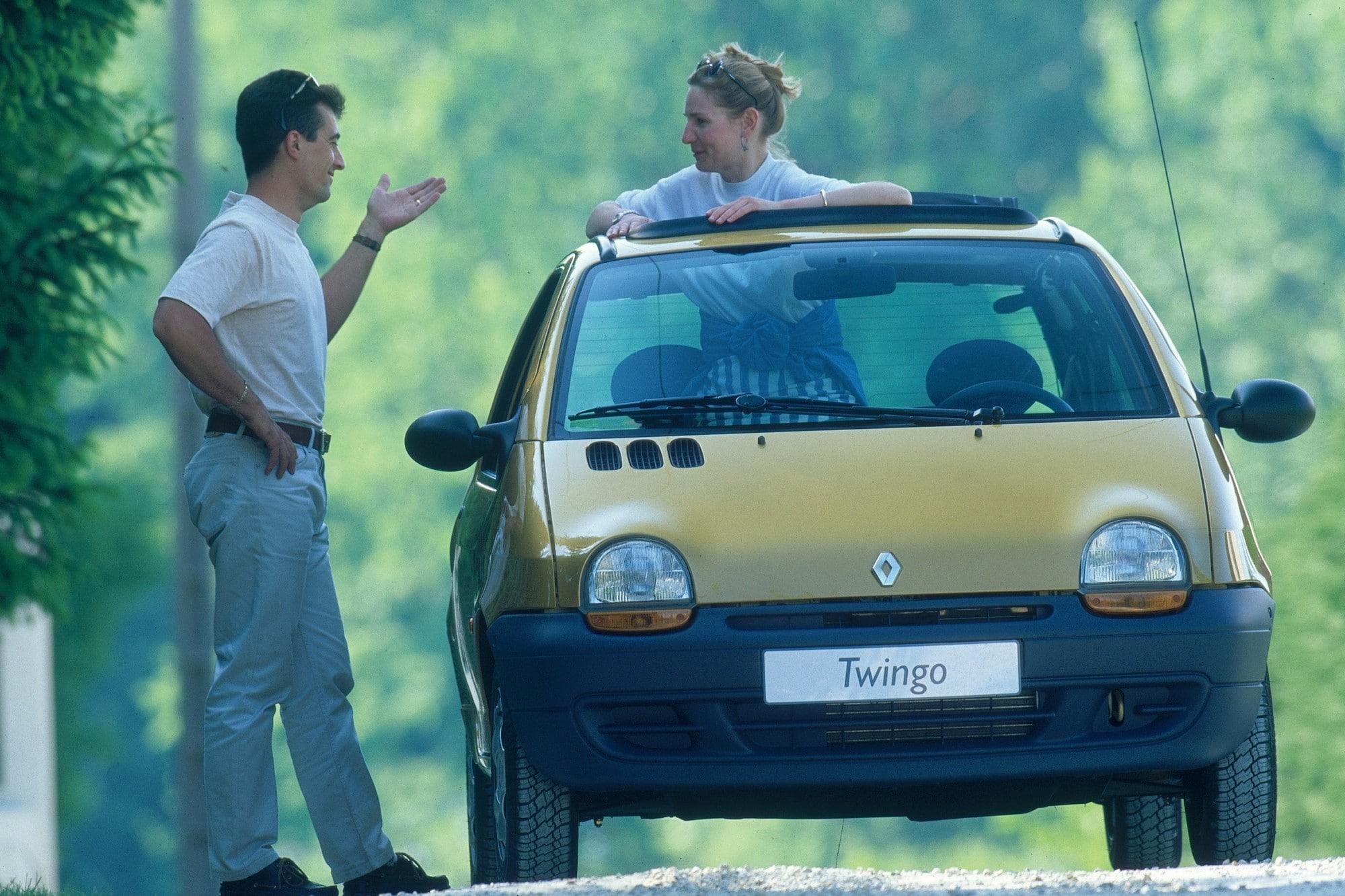 Renault Twingo 1 publicité