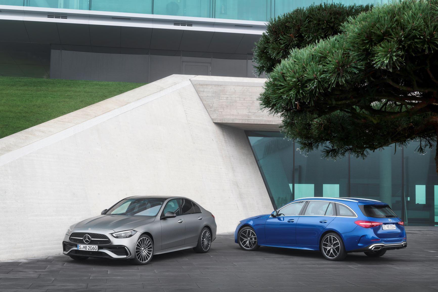 Mercedes Classe C 2021 berline et break