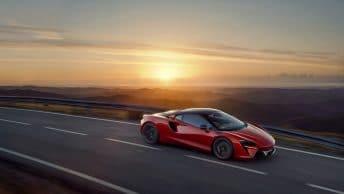McLaren Artura hybride rechargeable 2021