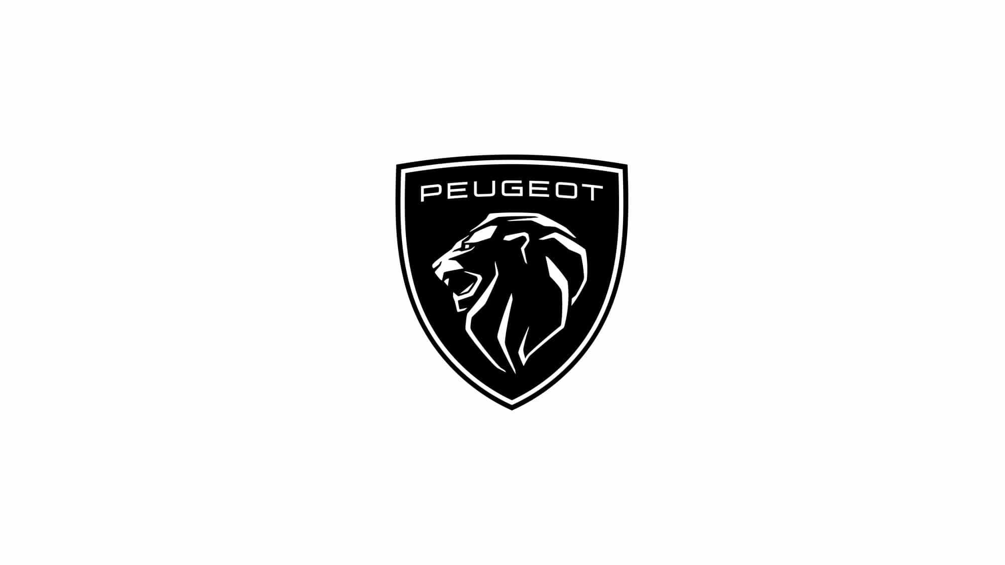 nouveau logo Peugeot 2021