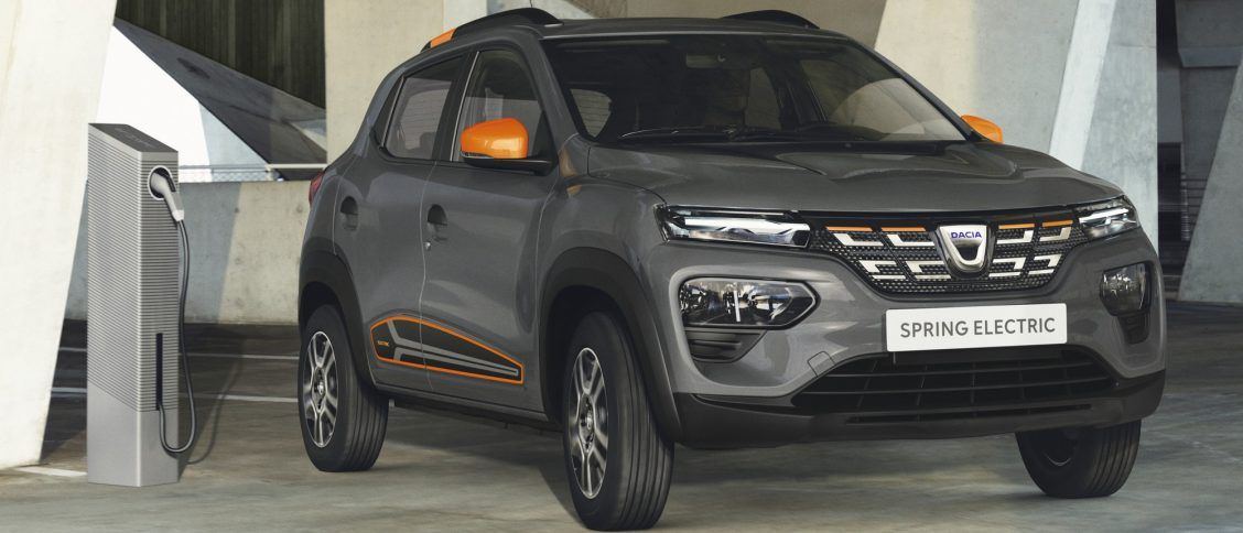 Dacia SPRING électrique 2021