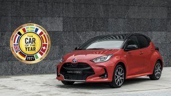 Toyota yaris voiture de l'année 2021