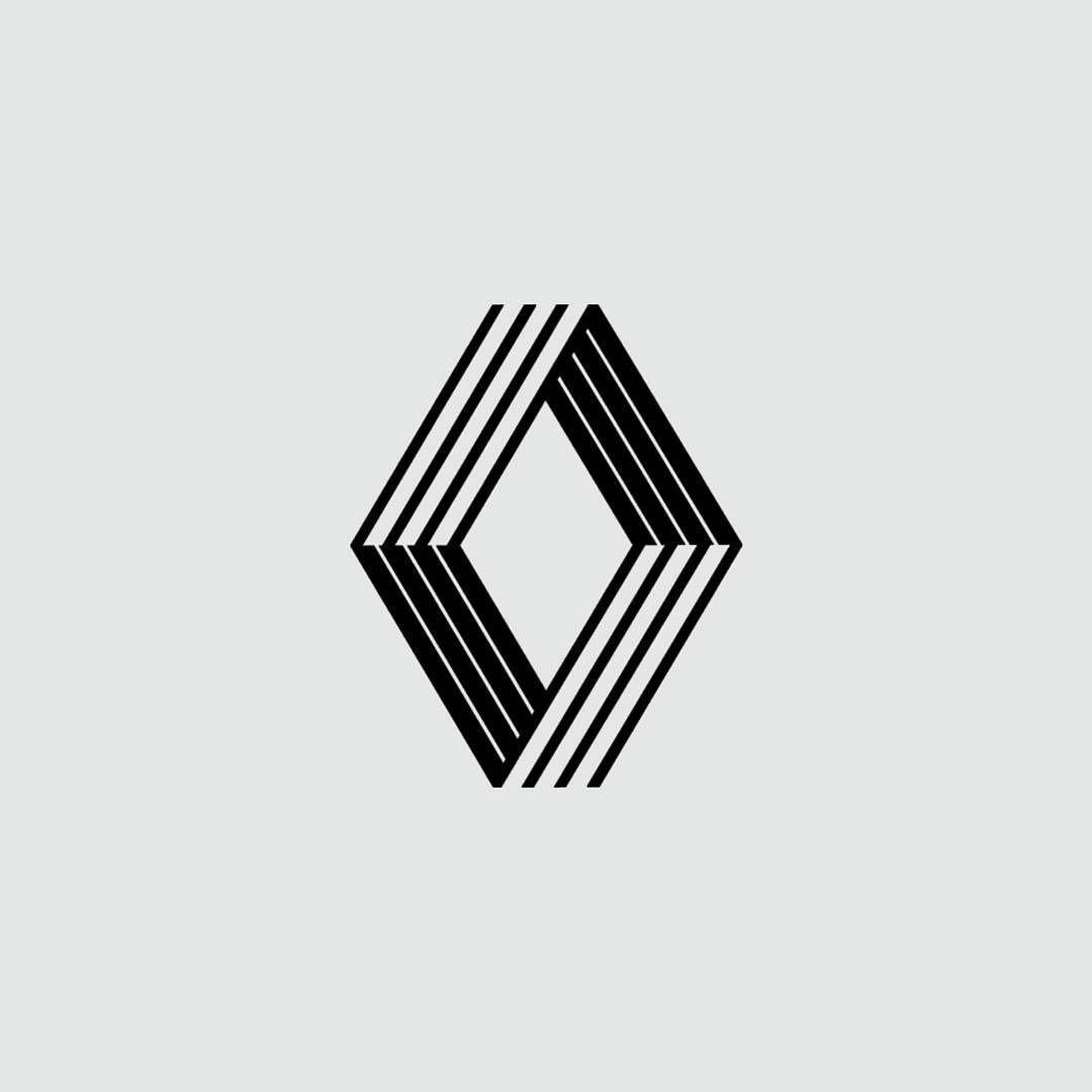Logo Renault Vasarely 1972