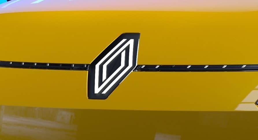 Logo Renault Concept Renault 5 électrique