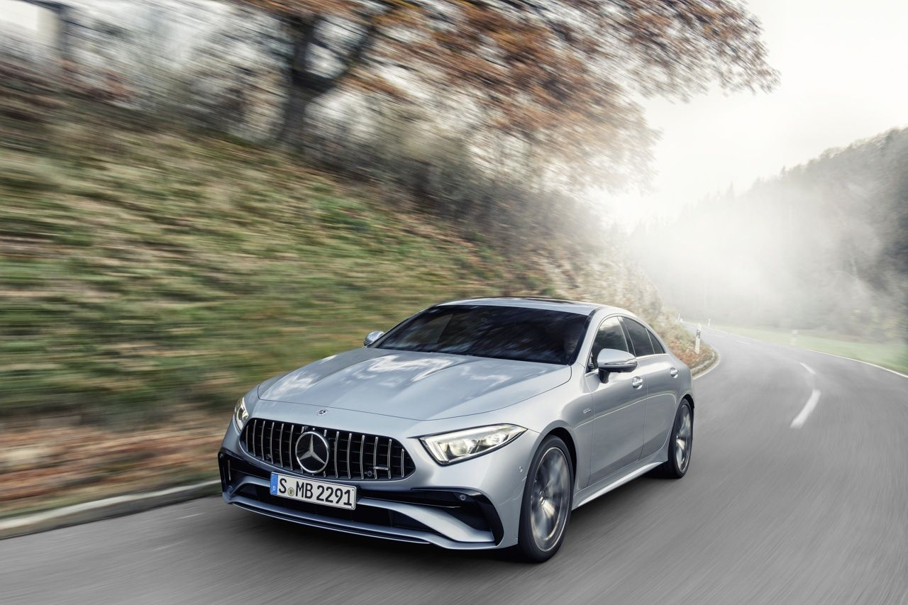 Mercedes CLS 53 AMG restylé 2021