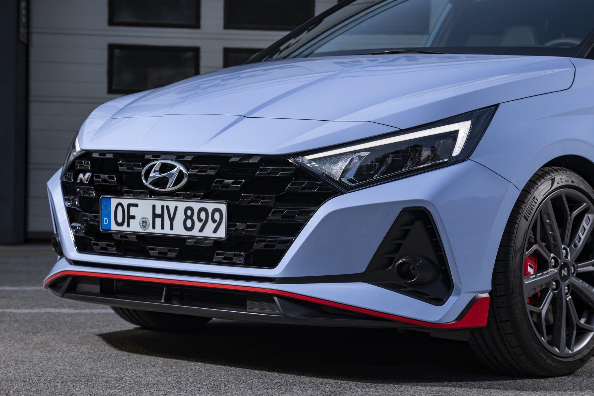 Nouvelle Hyundai i20 N tarif
