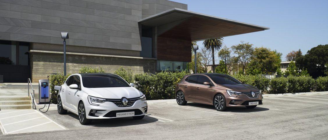 Renault Megane berline E-Tech plug-in 2021