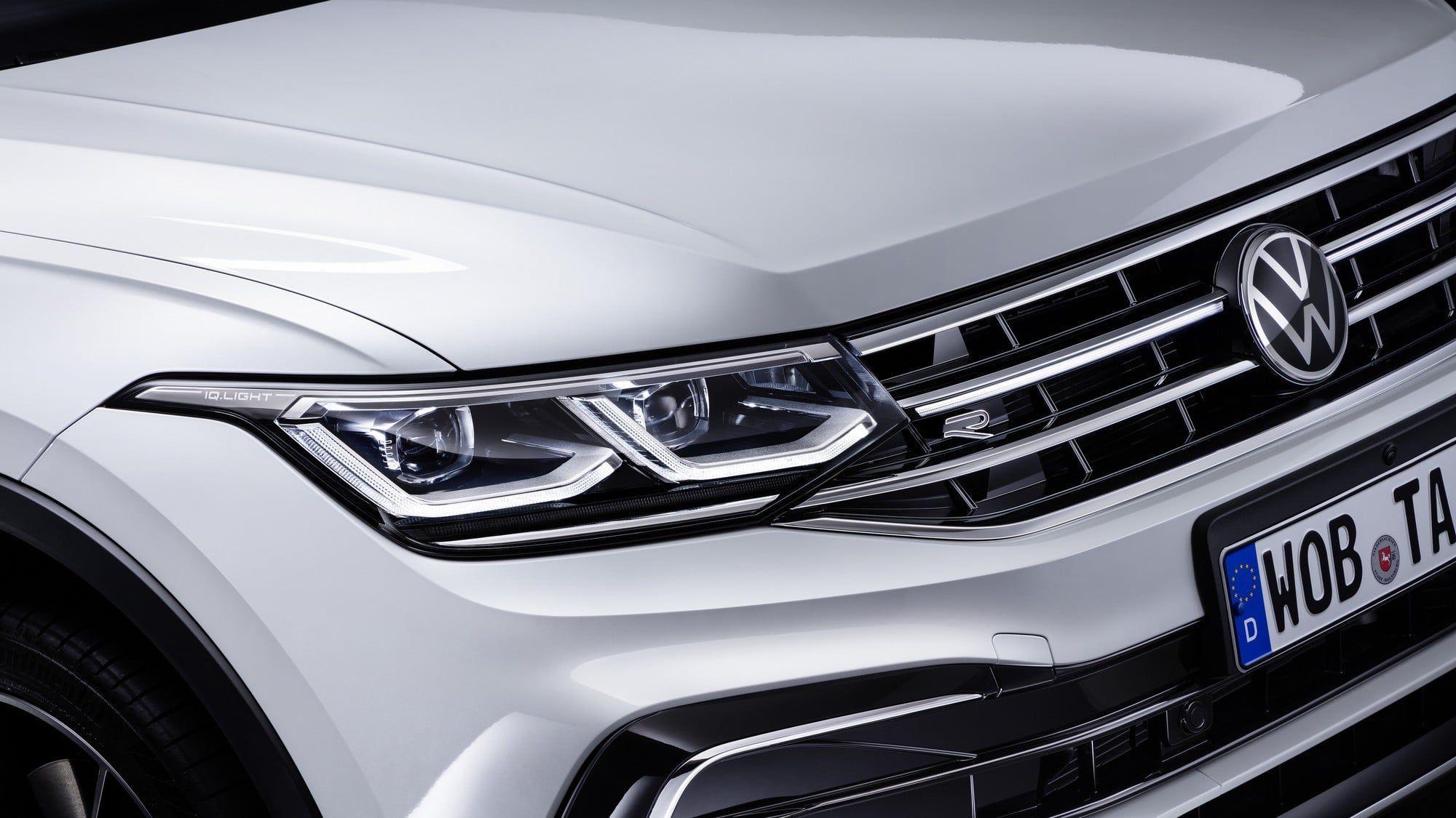 The new Volkswagen Tiguan Allspace 2021