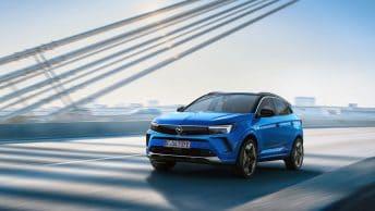 New Opel Grandland restyle 2021