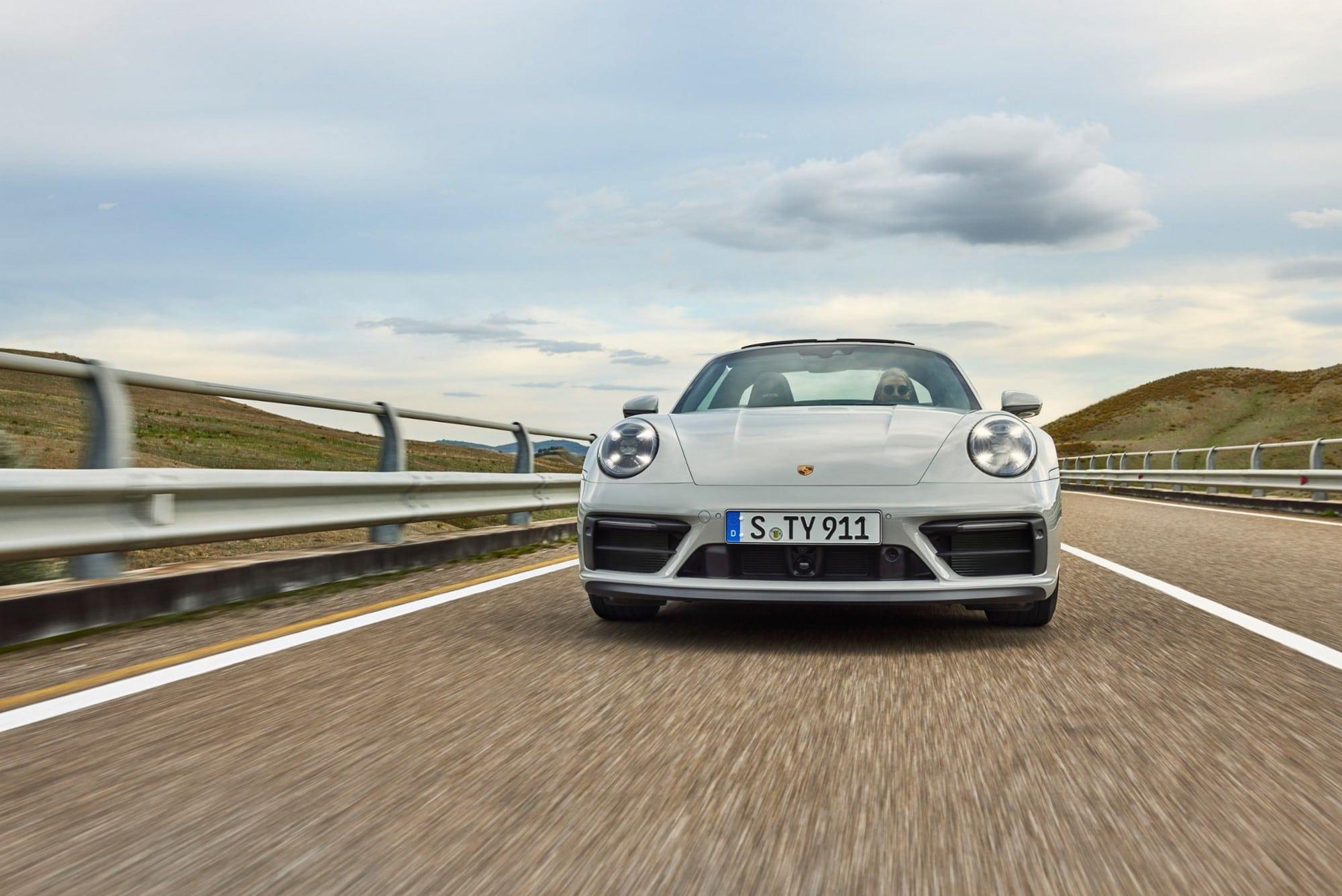 Nouvelle Porsche 911 GTS 2021
