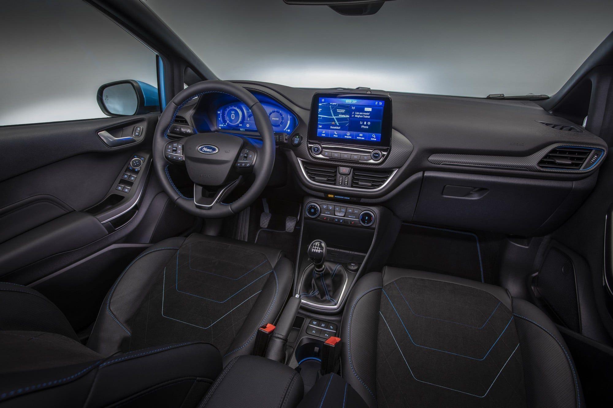 Nouvelle Ford Fiesta 2021 (interieur)