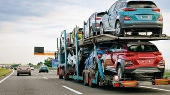 Camion de livraison Hyundai Kona