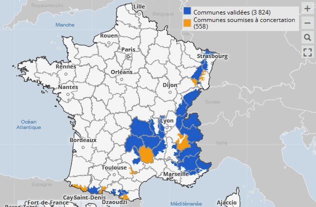 Liste departements pneus hiver obligatoire Loi Montagne