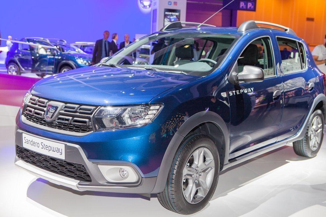 Dacia Sandero au Mondial de Paris